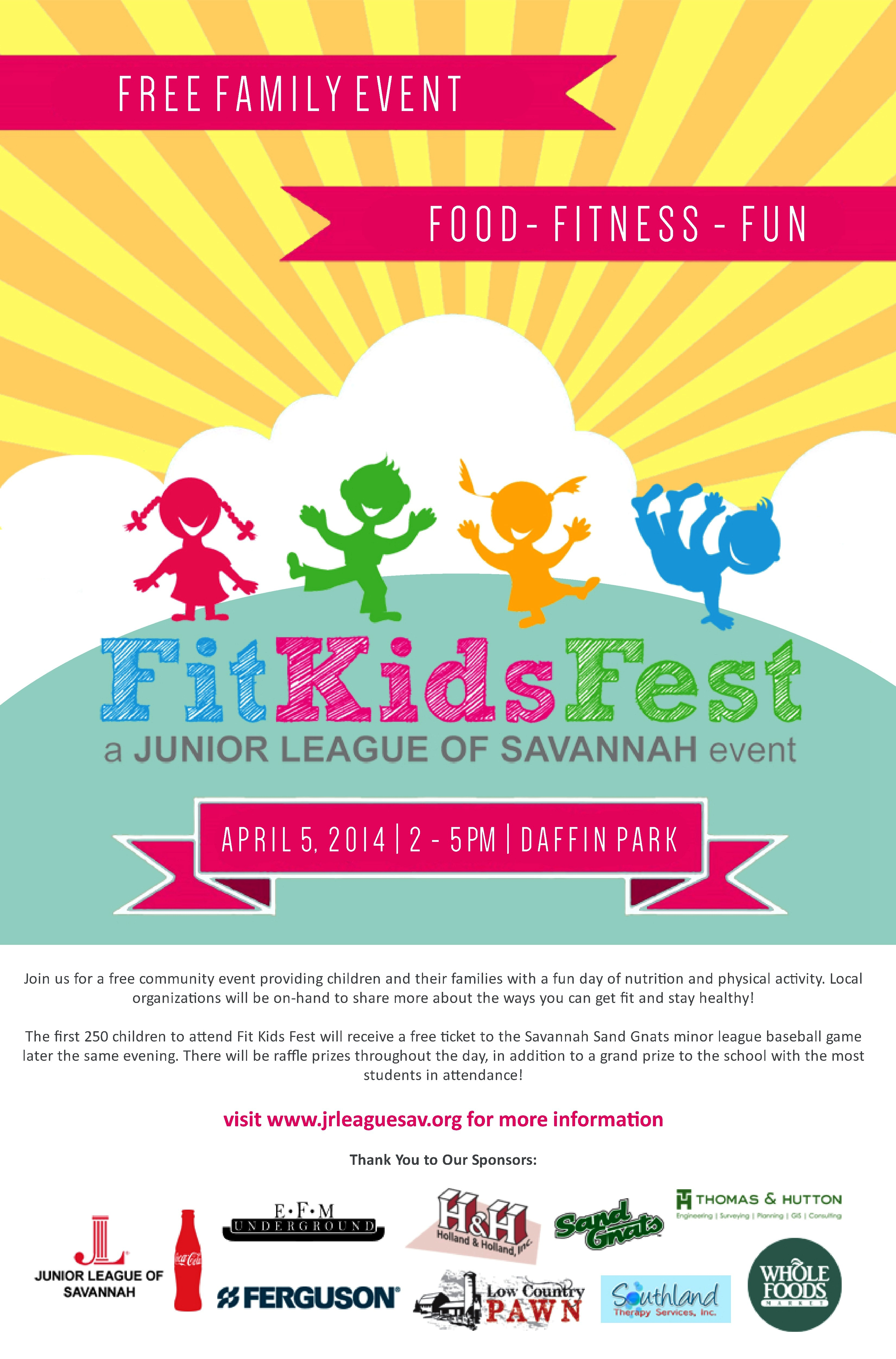 Southern Mamas Blog Archive Free Fit Kids Fest Food