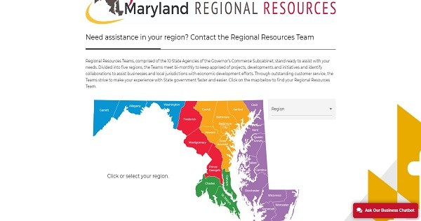 maryland-regional-resources-webpage