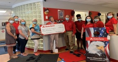 Calvert Hospice Children Grief Support Program donation from Wayne Shoemaker