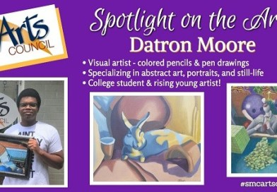"St. Mary's Arts Council's Artist Spotlight of the Week ""Datron Moore"""