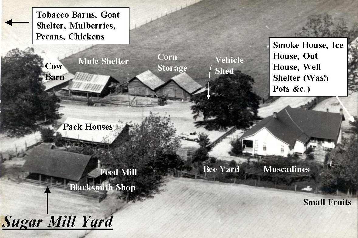 Southern Farms 1700s