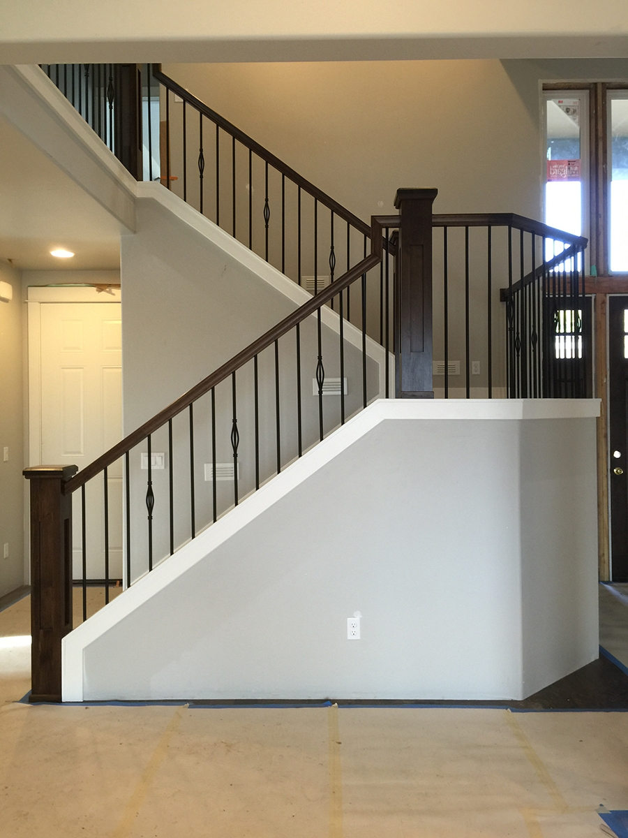 Stair Gallery Heritage Stairs   Craftsman Style Newel Post   Shaker   Construction   Colonial Elegance   Antique   1930 Style