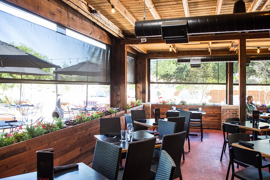 Motorized Restaurant Blinds | Southern Patio Enclosures on Outdoor Patio Enclosures  id=70780
