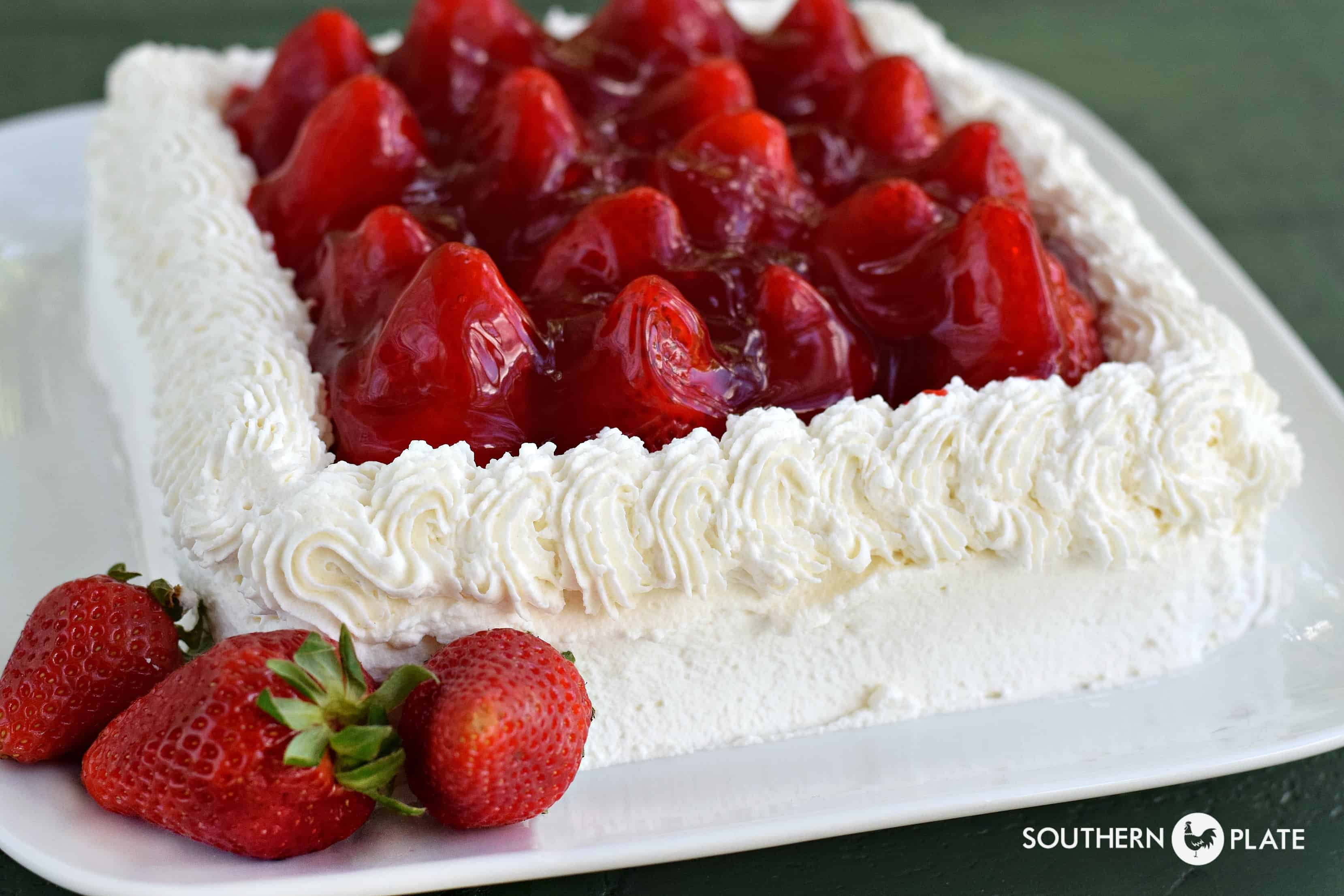 Decorating Cake With Strawberries Ideas