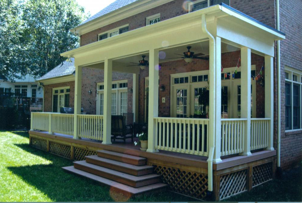 Covered Porches   Southern Porch & Patio Co. on Covered Back Porch Ideas id=45929