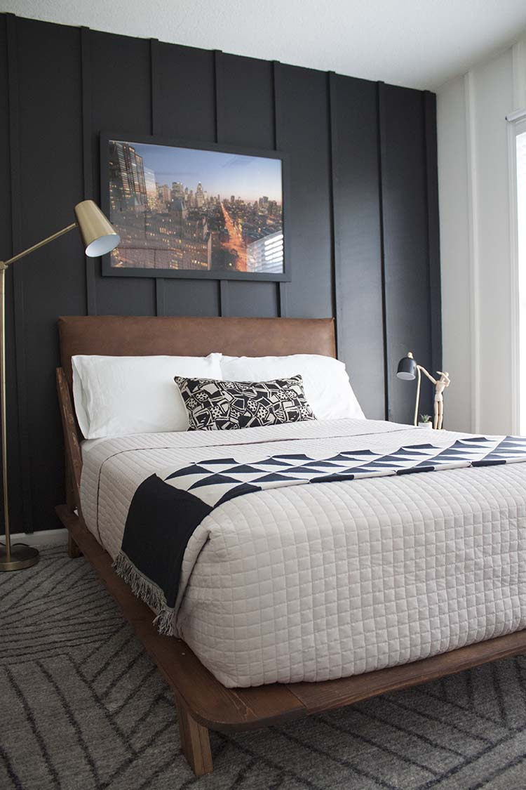 Teen Boy Bedroom Makeover Reveal - ORC Week #6 - Southern ... on Teenage Bed  id=80756