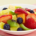 Very Vanilla Fruit Salad
