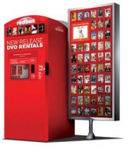 redbox rental code