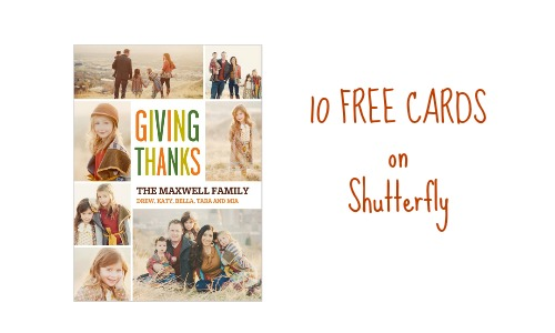 Shutterfly Coupon Code Get 10 Free Cards Southern Savers
