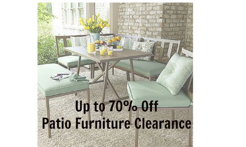 Patio Furniture Clearance   70  Off at Kmart    Southern Savers patio furniture clearance kmart