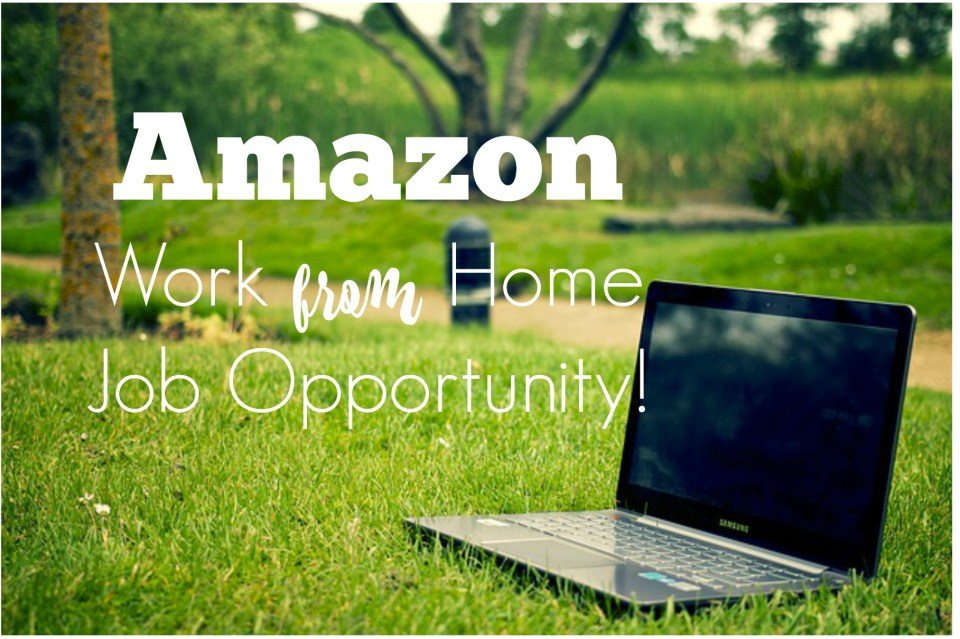 Amazon Work From Home Job Opportunity Southern Savers