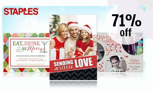Groupon 71 Off Custom Christmas Cards Southern Savers