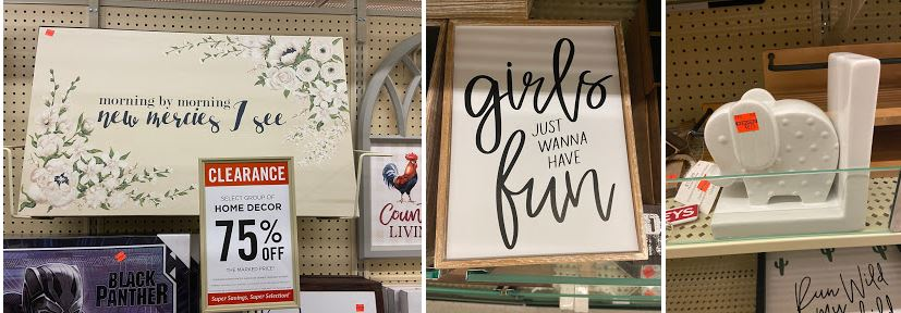 Hobby Lobby Clearance: Up to 75% Off Wall Decor & More ... on Hobby Lobby Furniture Clearance id=92076