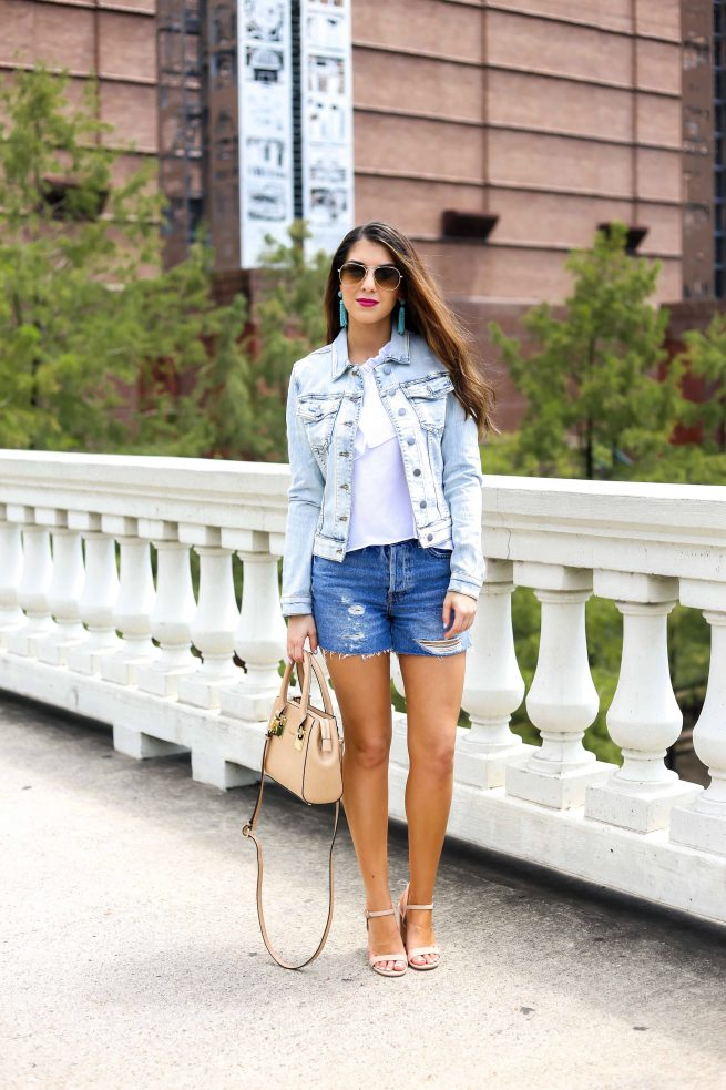 Denim on Denim Style Dressed Up