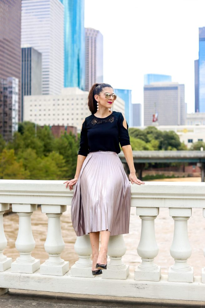 Pleated Skirt for the Fall