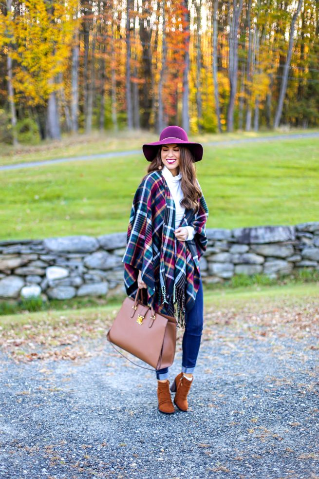 Fringe Cape for Fall and Winter