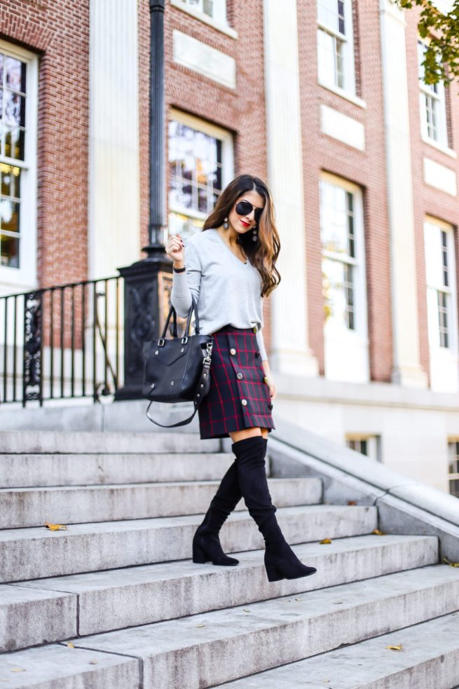 How to Wear Plaid for Fall