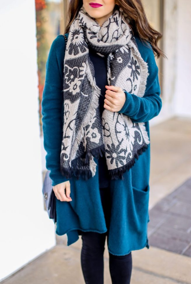 Cozy Cardigan and Scarf for Winter