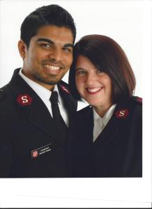 Captains Ashish & Sandra Pawar