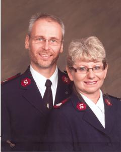 Majors Dieter & Barbara Zimmerer