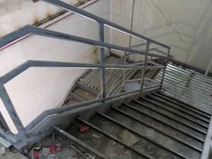 Stair with Intermediate Landing