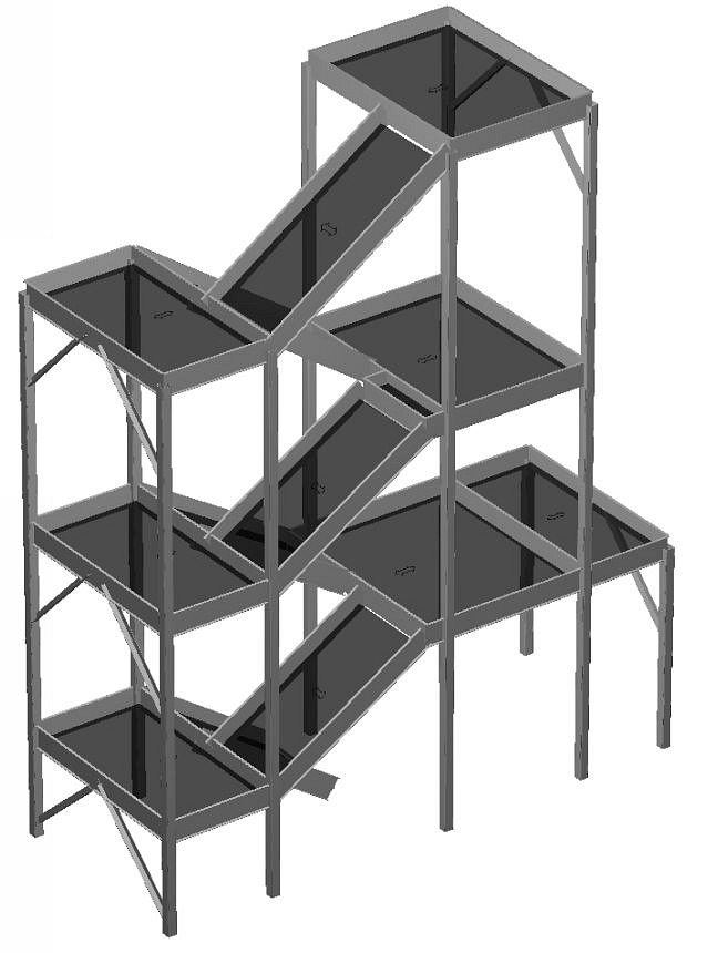 Free Standing Stair Tower