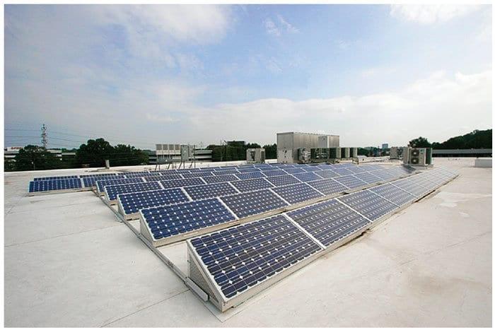 ASHRAE solar PV rooftop Atlanta