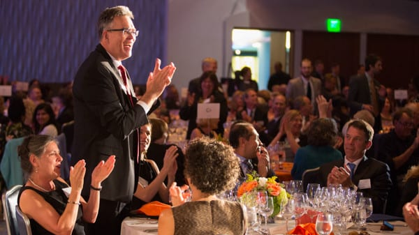 Dennis Creech Recognized at Visionary Dinner