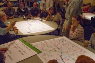 Participants of the Resilience in Atlanta workshop shared ideas on how to improve regional resilience efforts.