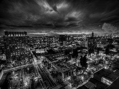Stormy San Jose Sunset 2014-10-31