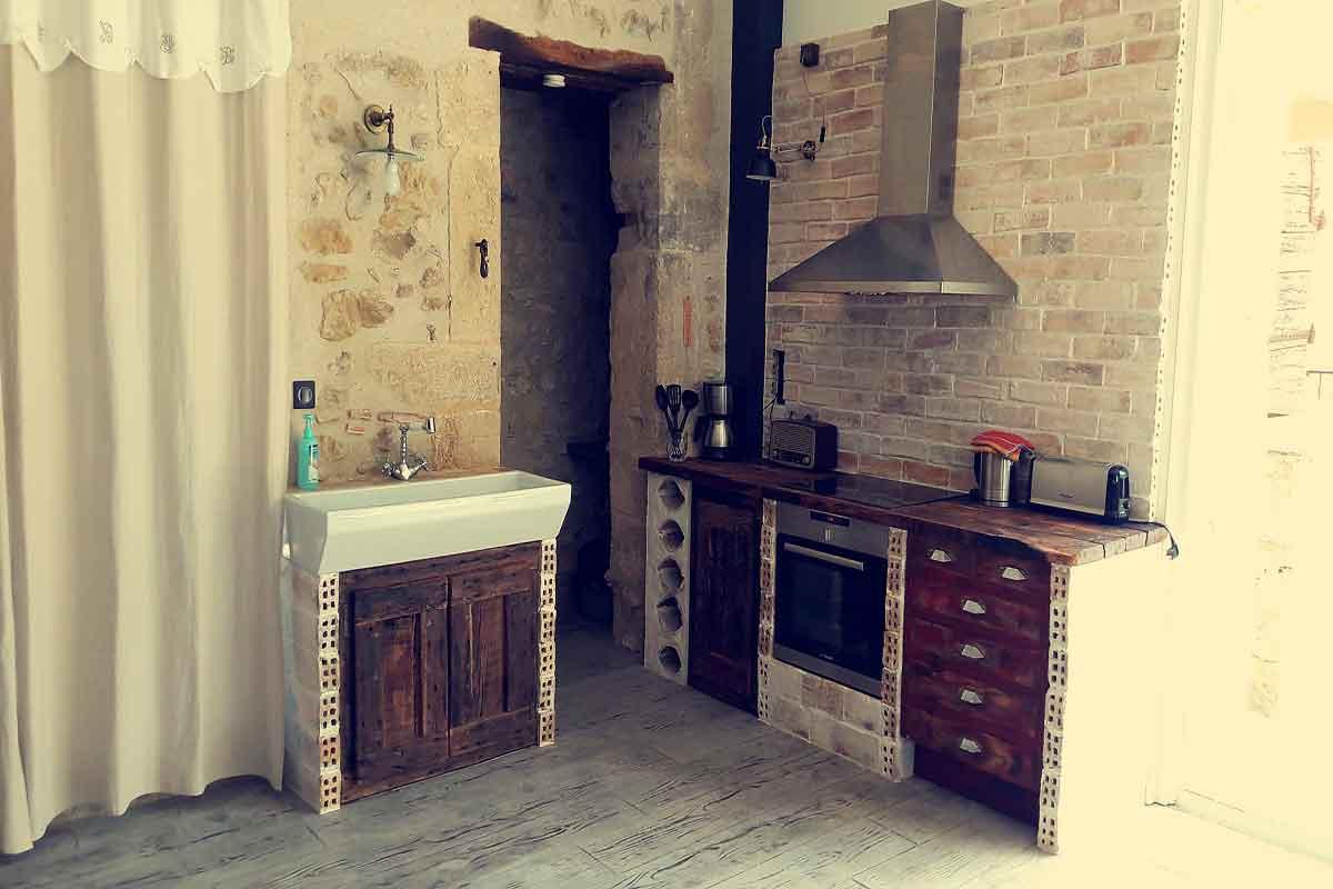 Rustic Living Room Set