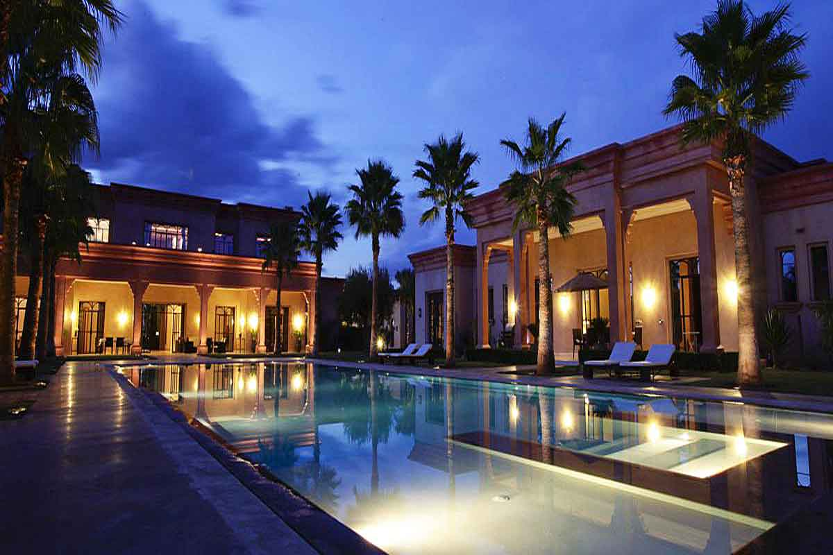 Moroccan Luxury Villa With Pool To Rent In Marrakech Suitable For Weddings And Events