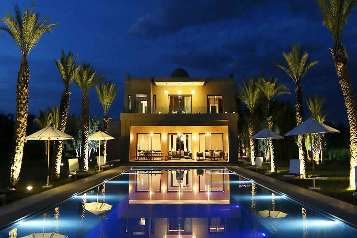 Luxury Holiday Villa To Rent With Pool In Marrakech