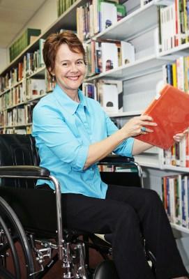 bigstockphoto_Librarian_In_Wheelchair_1884581-1 (2)