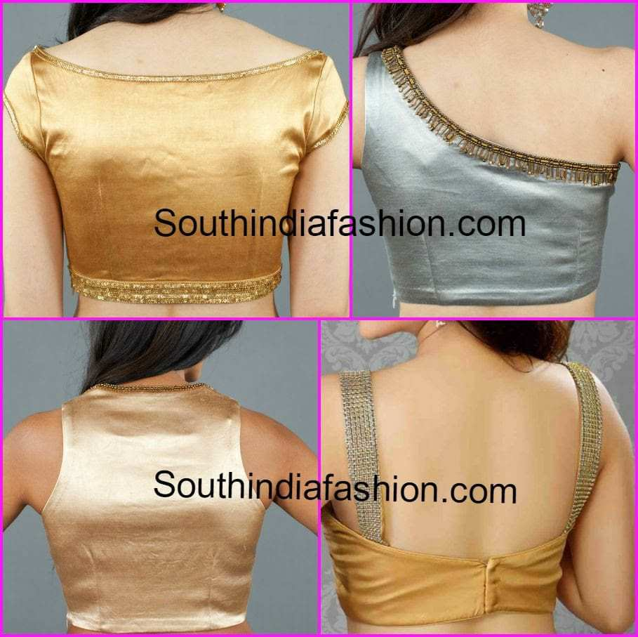 Back Neck Designs For Plain Blouse 20 Latest Blouse Back Neck Designs For Pattu Silk Sarees Women S Shirts High Quality Blouses,Lightning Bolt Design Hair