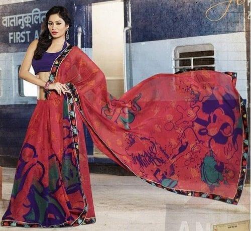 Comics On Sarees - Telugu Fashion News For Women