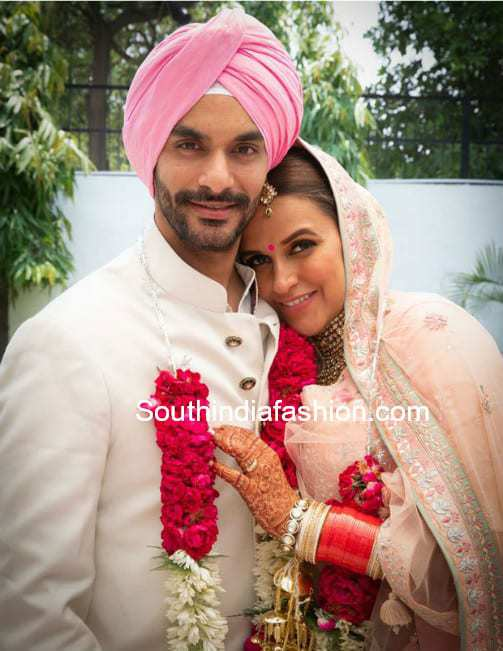 Actress Neha Dhupia Got Married To Angad Bedi In A Secret