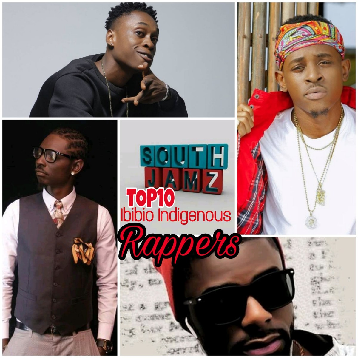 Top10 Ibibio Indigenous Rappers (SouthJamz rating)