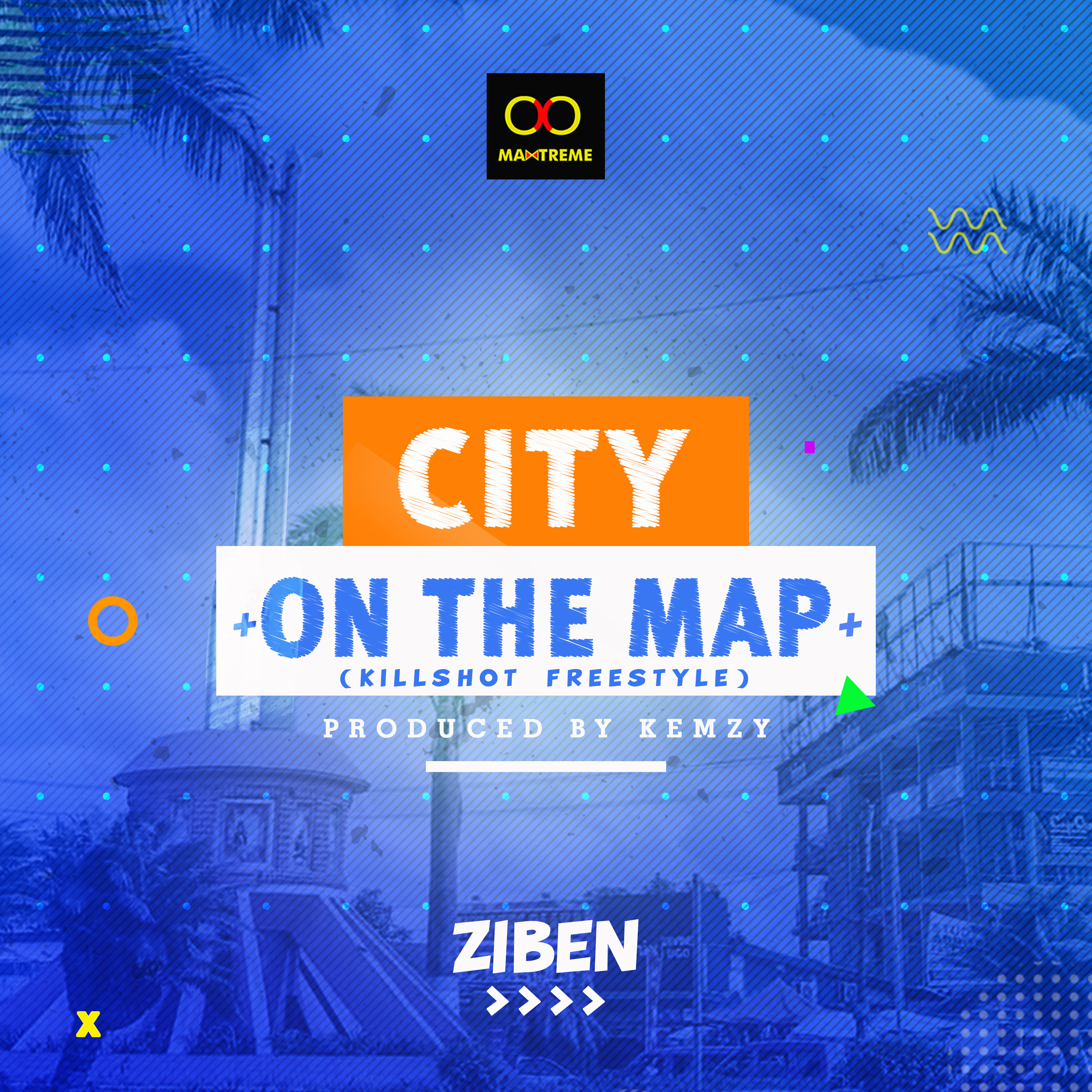 CITY ON THE MAP new art
