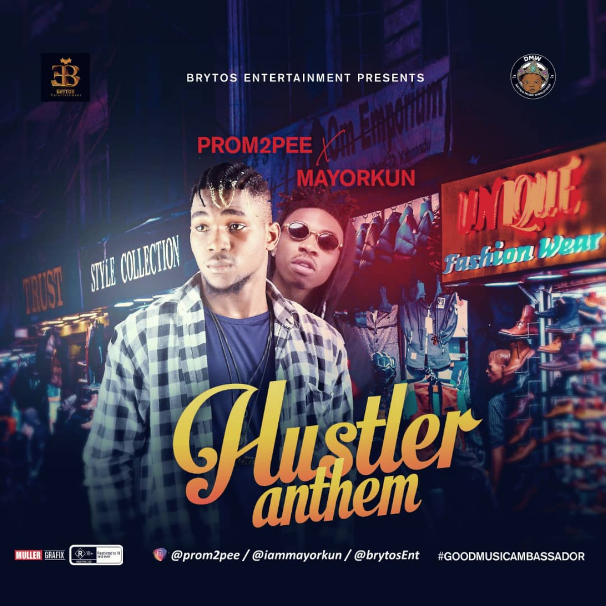 Music: Mayorkun x Prom2pee - Hustler Anthem