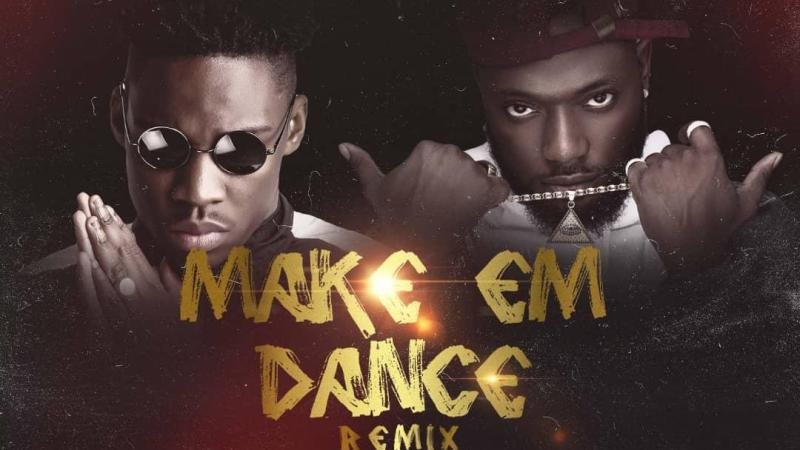 "DREMO JUMPS ON THE REMIX OF ""MAKE EM DANCE"" WITH ZAMBIAN FINEST ARTIST ""JAY TRIGGA"""
