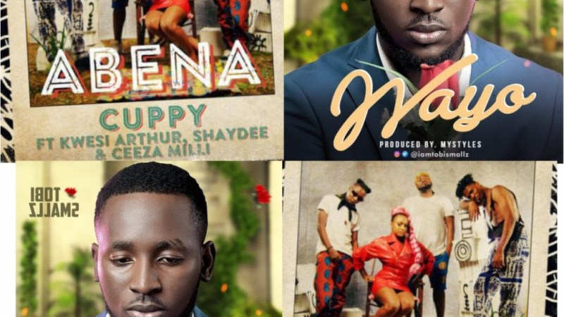 """DJ Cuppy New Single """"ABENA,"""" A RIP OFF Of Tobi Smallz """"WAYO"""""""