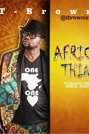 TBROWN AFRICAN THINGS-art