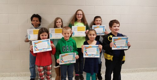 Mount Ephraim School District Students of the Month
