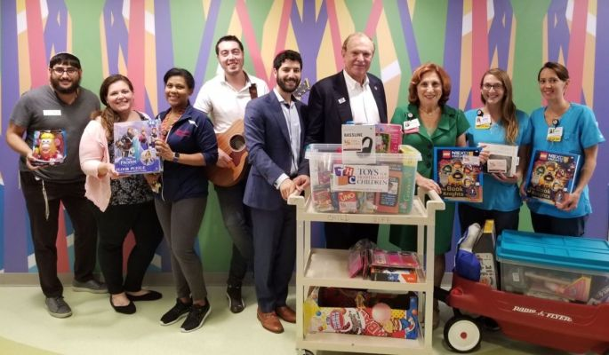 Toys for Hospitalized Children