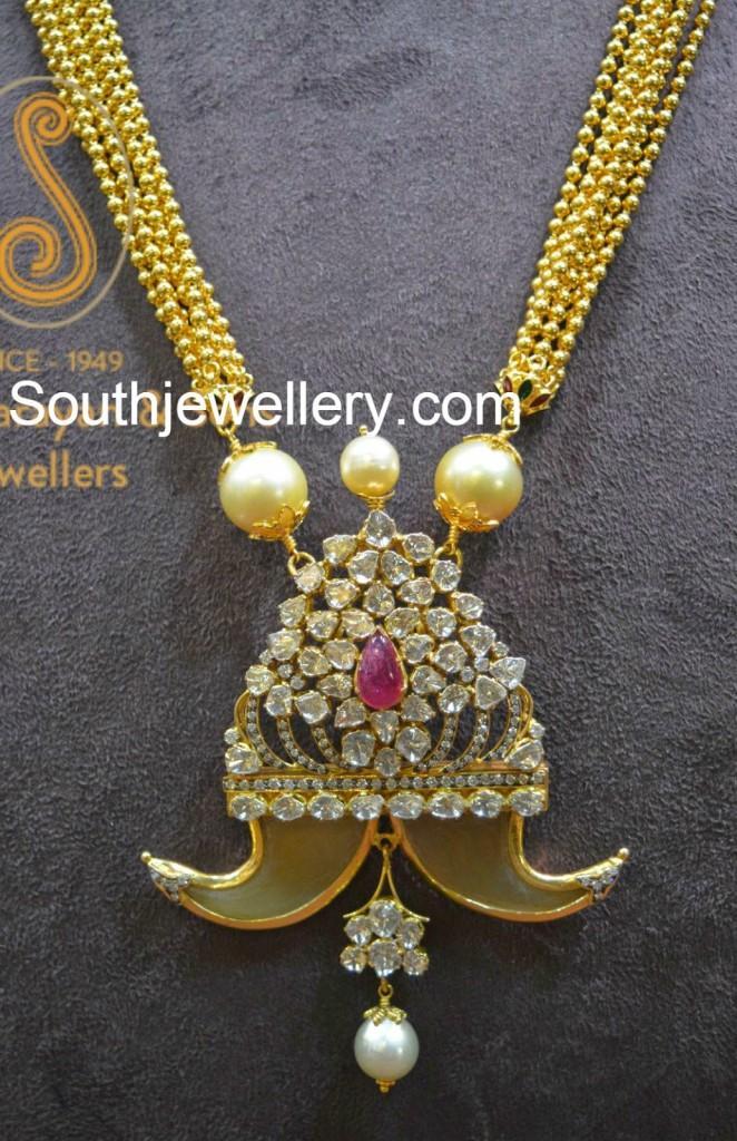 Puligoru Latest Jewelry Designs Jewellery Designs