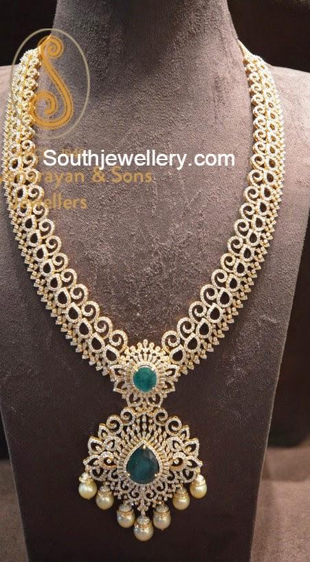 Diamond Long Chain Latest Jewelry Designs Jewellery Designs