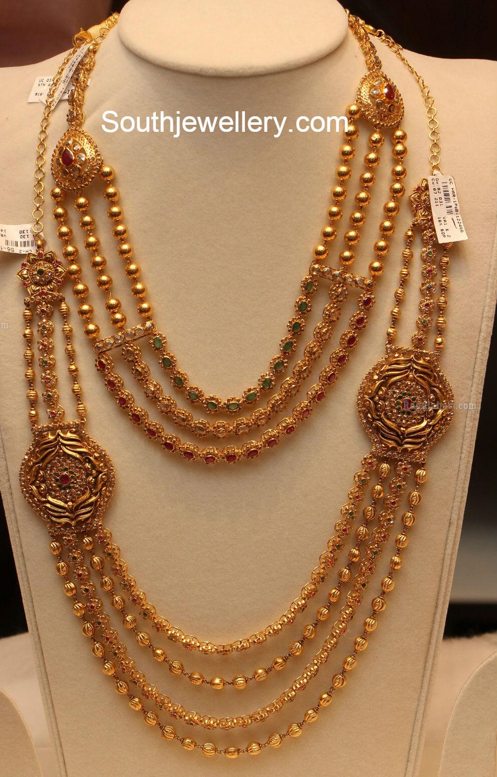 Long Diamond Necklace Designs