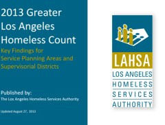 LAHSA 3013 Homeless Count Graphic
