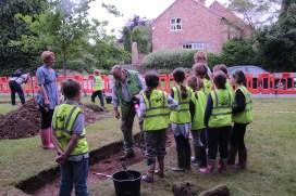 School Dig at Marton Cum Grafton